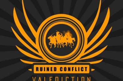 Cover des Musikalbums Valediction von Ruined Conflict
