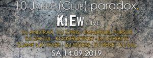 10 Jahre Club Paradox