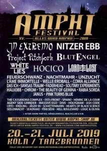 Amphi Festival 2019 Lineup
