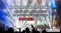 Konzerte Oktober 2019