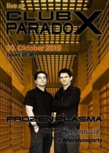 Club Paradox Flyer 2010