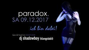Dj shadowboy im paradox