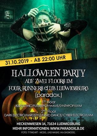 Halloween Party 2019 Paradox