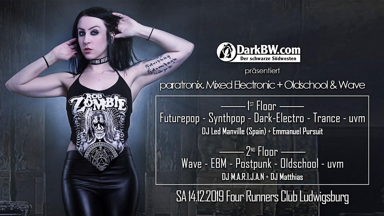 Paratronix. + Oldschool & Wave