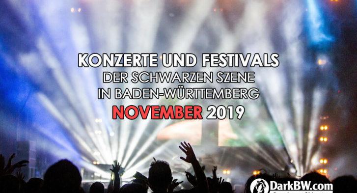 Gothic Konzerte November 19
