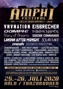 Amphi Festival 2020 Line-Up